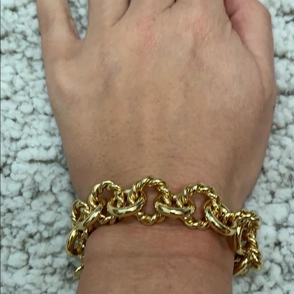 J. Crew Jewelry - JCrew Gold Bracelet